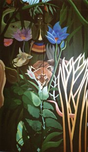 9' x 9' Henri Rosseau - The Dream